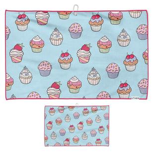 Cupcake Party Microfiber Cart Towel