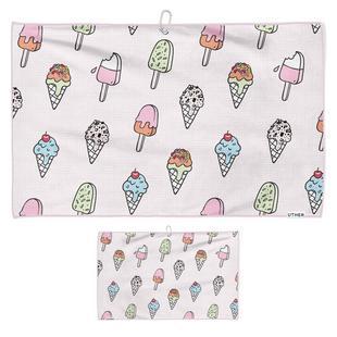 Ice Cream Drip Microfiber Cart Towel