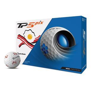 Balles de golf TP5 Pix - Édition Bacon N' Eggs