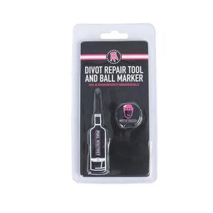 Pink Whitney Bottle Divot Repair Tool & Ball Marker Set