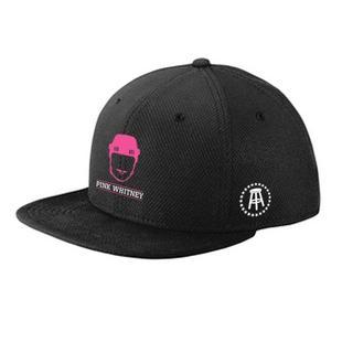 Men's Pink Whitney Big Logo Cap