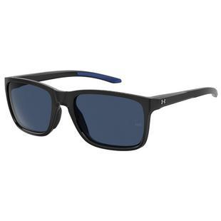 Lunettes de soleil Hustle Shiny Avio - Noir/Bleu
