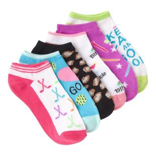 Women's Lucky Golf Low Cut Sock-6 Pack