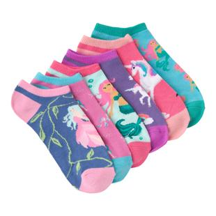 Women's Mythical Creatures Low Cut Sock-6 Pack