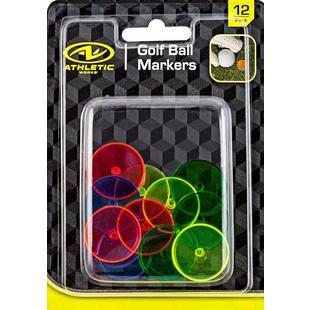 Marqueurs de balle de couleurs variées
