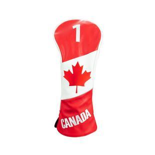 Couvre-bâton pour bois de départ à motif de drapeau du Canada