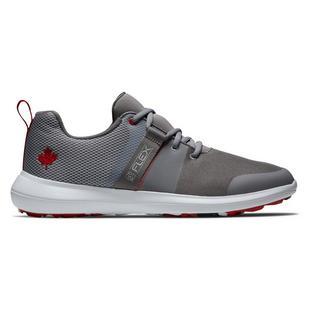 Chaussures Flex Canada Collection pour hommes - Gris/Blanc/Rouge