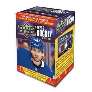 Ensemble de cartes de hockey 2020-21 Upper Deck Series 2