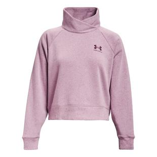Women's Rival Fleece Wrap Neck Pullover Sweater