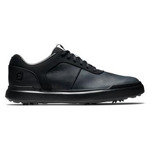 Men's Contour Series Spiked Golf Shoe - Black