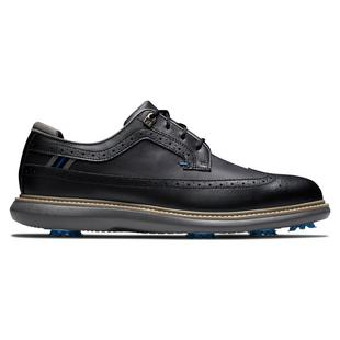 Men's Premiere Traditions Spiked Golf Shoe - Black