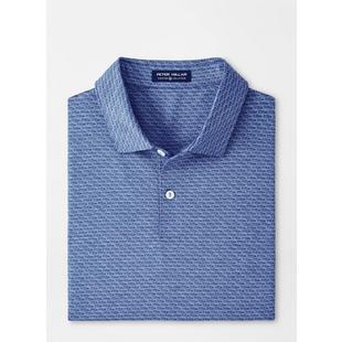 Men's Billy Printed Sportscar Jersey Short Sleeve Polo
