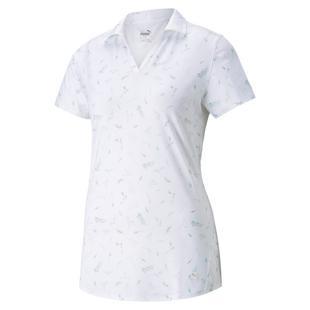 Women's MATTR Greenery Short Sleeve Polo
