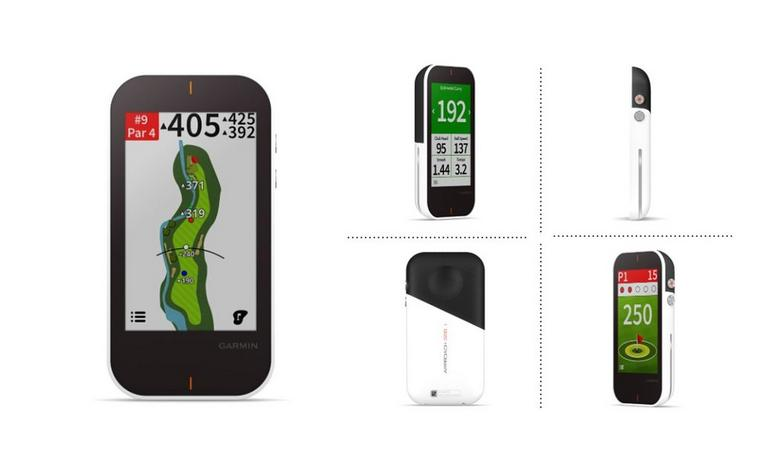 The first all-in-one handheld Golf GPS and Launch Monitor