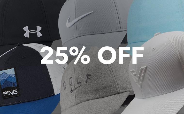 25% off Hats!