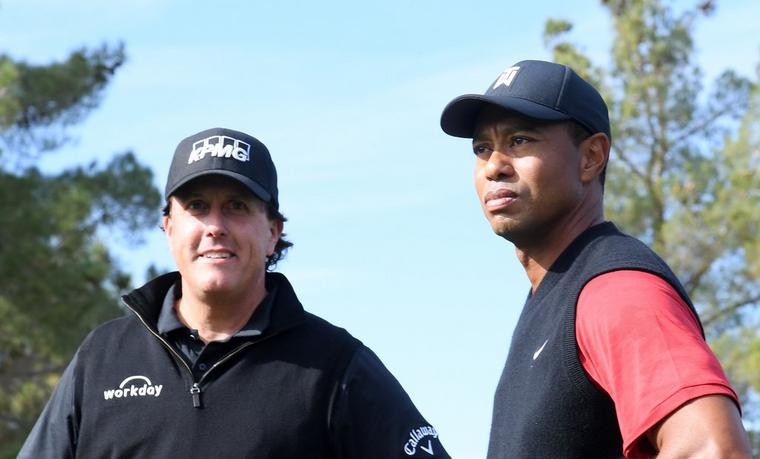 THE MATCH PART DEUX—WOODS AND MICKELSON BATTLE ALONGSIDE NFL GREATS IN COVID BENEFIT