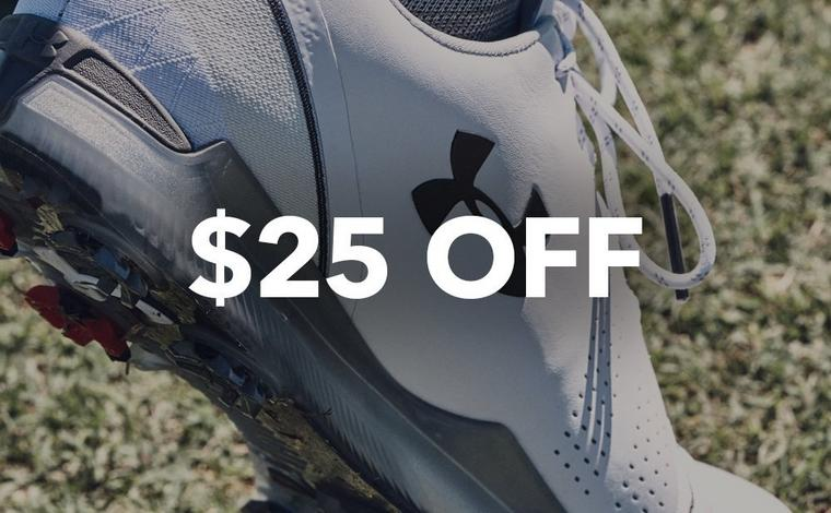 $25 off Spieth 3 Shoes