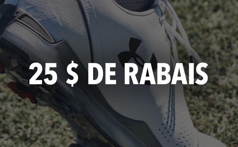 25 $ de rabais chaussures Spieth 3