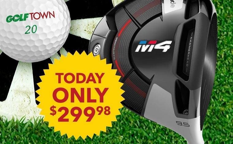 Only $299.98 ea. <br />TaylorMade M4 Drivers