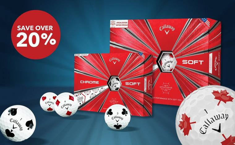 Save over 20% on Callaway Limited Edition  Chrome Soft Truvis Golf Balls