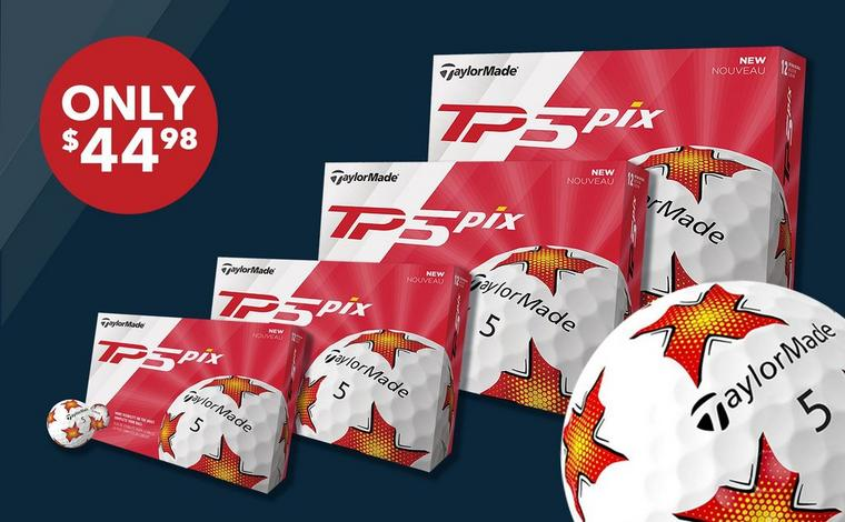 Taylormade TP5 Pix, 12pk - Only $44.98 ea