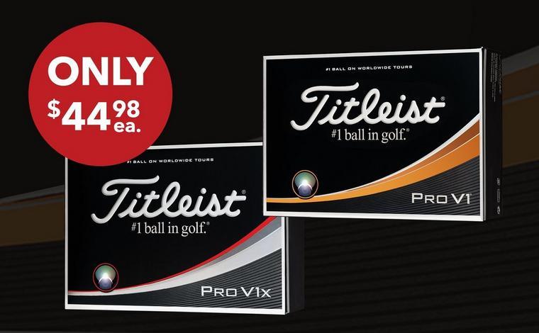 Only $44.98 Prior Gen Pro V1 and Pro V1x