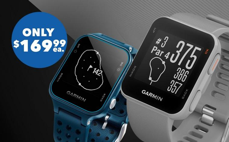 Garmin S10 & S20 GPS Watch – Only $169.99 ea.