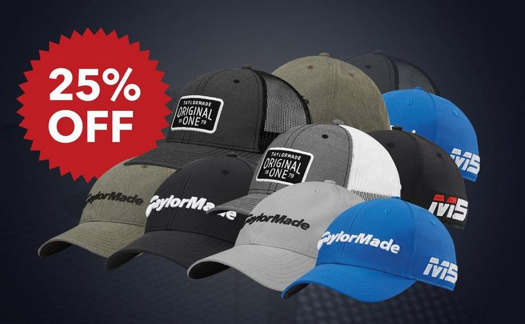 25% Off TaylorMade Hats