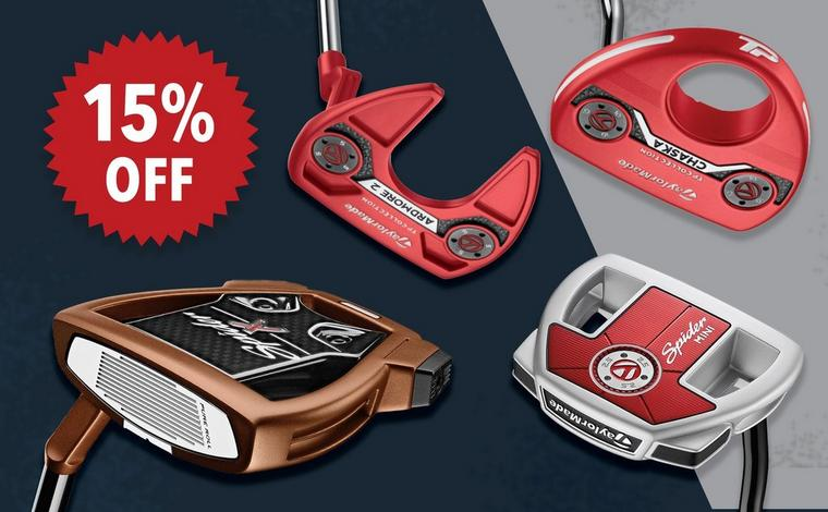 15% off TaylorMade Putters