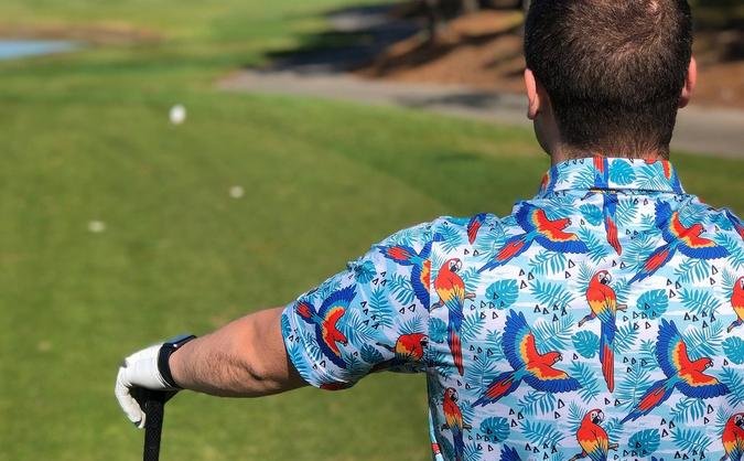 THE FRESHEST POLOS IN GOLF