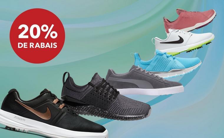 20% de rabais | Chaussures du printemps