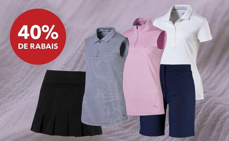 Épargnez 40% | Vêtements Puma pour femmes