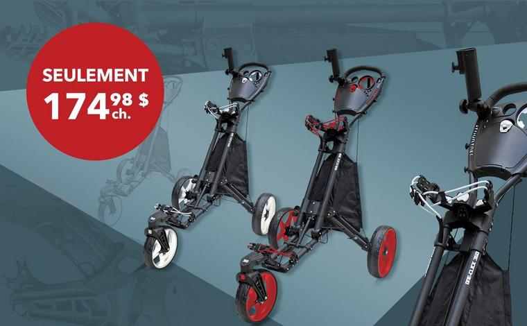 Chariot One Click 360 – Seulement 174,98 $