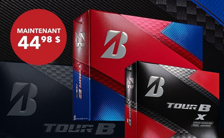 Bridgestone Tour B Series, 12 balles - Seulement 44,98 $