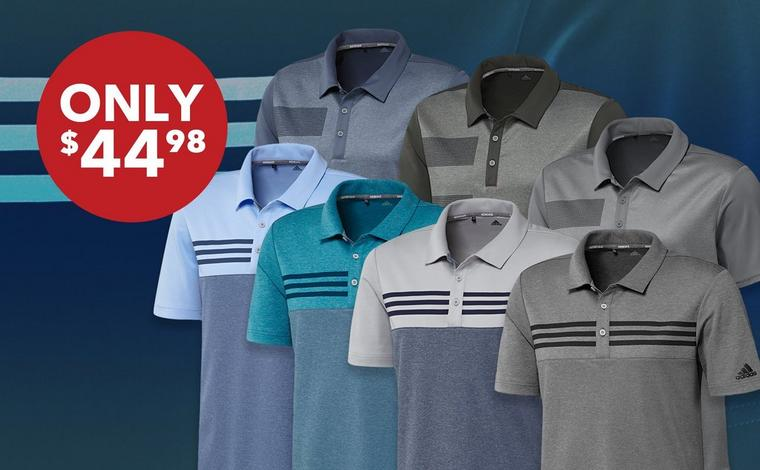 Men's adidas Polo - Only $44.98