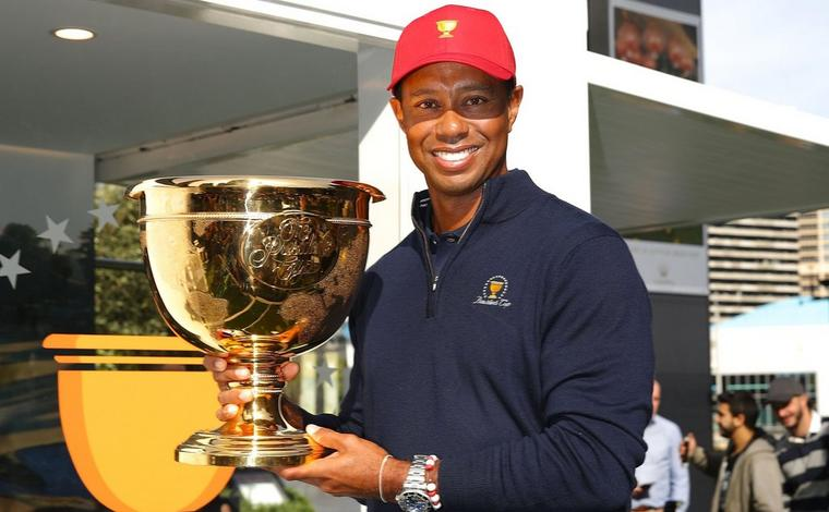 PRESIDENTS CUP CAPTAIN TIGER WOODS SELECTS HIMSELF WITH CAPTAIN'S PICK