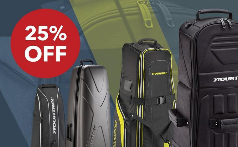 Save 25% on all Tour Trek travel covers
