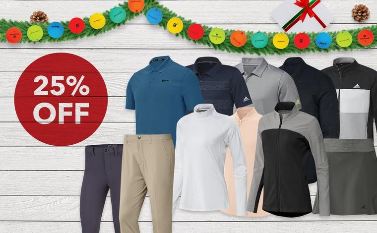 25% off adidas & Nike Clothing