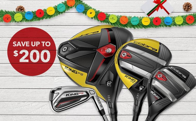 Save on Cobra F9 Clubs