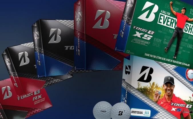 Save over 40% on ALL Bridgestone Tour B Series Golf Balls