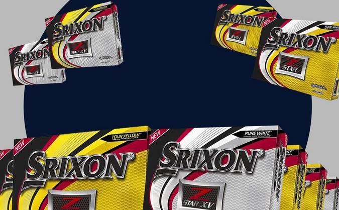40% OFF ALL Srixon Z-Star Series Golf Balls