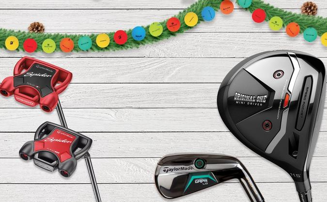 Save up to 40% on TaylorMade clubs