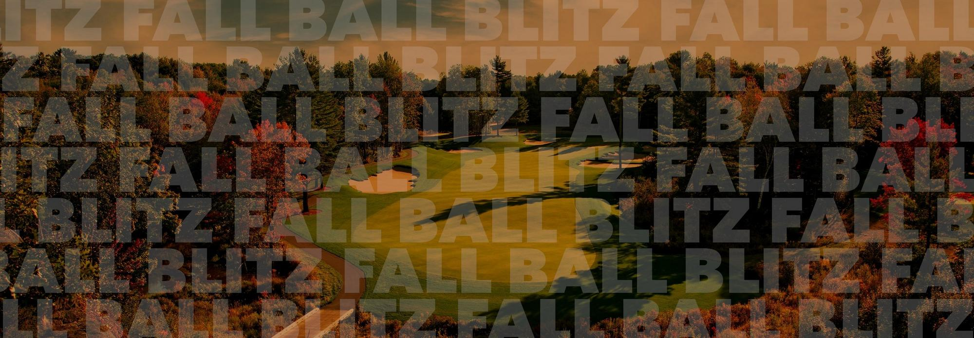 Fall Ball Blitz<br />Save up to 50%