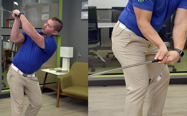 FIX YOUR SLICE WITH AN EASY INDOOR DRILL