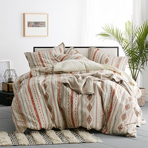 Cstudio Home Ithaca Cotton Percale Duvet Cover Set