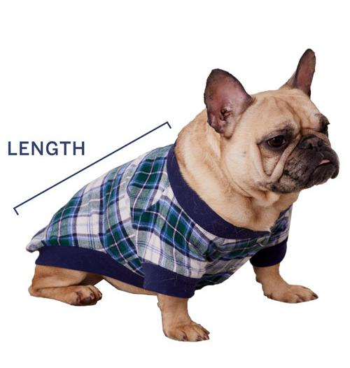 Dog Pajamas Sizing
