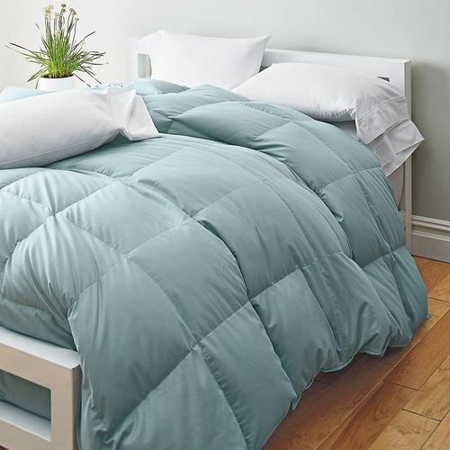 down vs. down alternative comforter