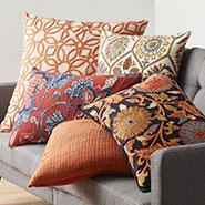 Featured Product: Embroidered Pillow Covers