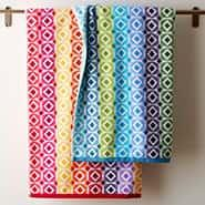 Featured Products: Facets Cotton Towel