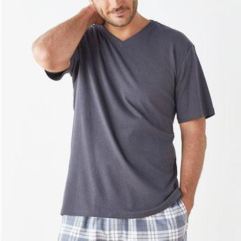 Men's V-Neck Pima Tee